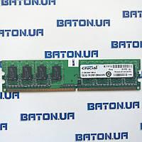 Оперативная память Crucial DDR2 1Gb 667MHz PC2 5300U (CT12846AA667) Б/У