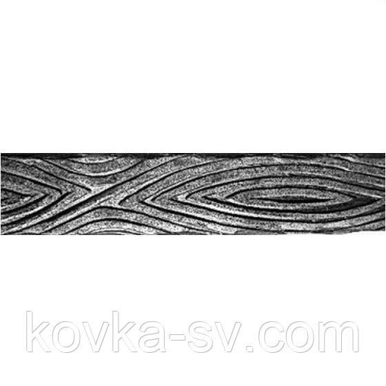 Кованая декоративная полоса 40х4 мм