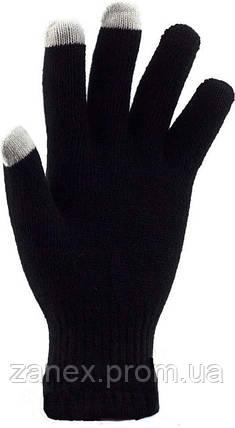Перчатки для сенсорных телефонов iGlove (черные), фото 2