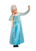 Карнавальный костюм Carnival Toys Снежная королева Эльза рост 126-148 см