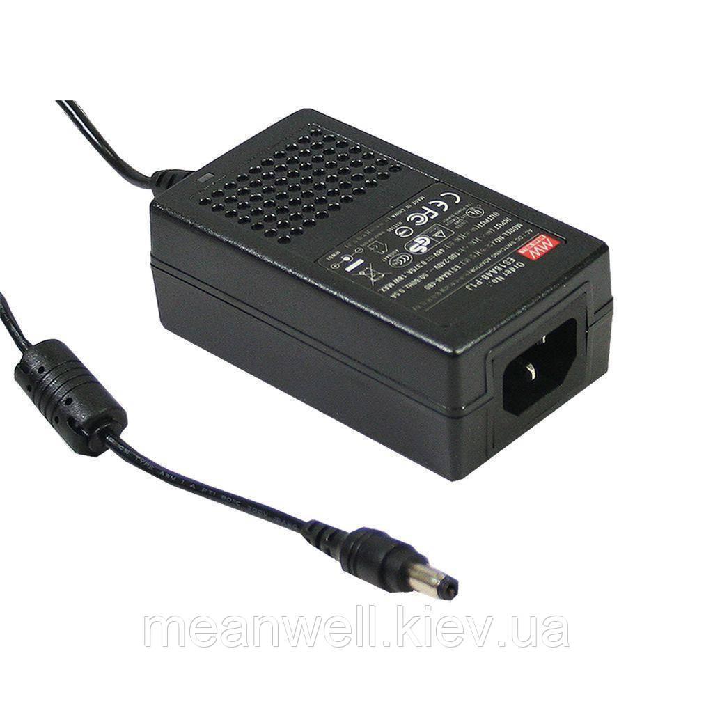 GS25A18-P1J AC DC адаптер питания 18В, 1,38А Mean Well