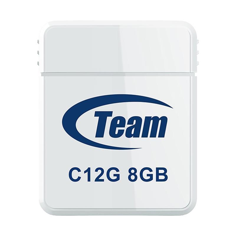 USB 8Gb Team C12G White (TC12G8GW01)
