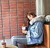 Джинсовая куртка утепленная - 3 цвета, фото 10
