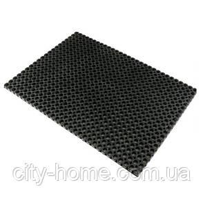 Коврик резиновый сота 80 х 120 х 2,6 см износостойкий., фото 2