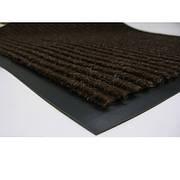 Коврик грязезащитный влаговпитывающий 90 х 150 коричневый