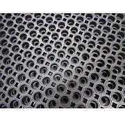 Килимок гумовий сота 60 х 80 х 2,6 см зносостійкий.