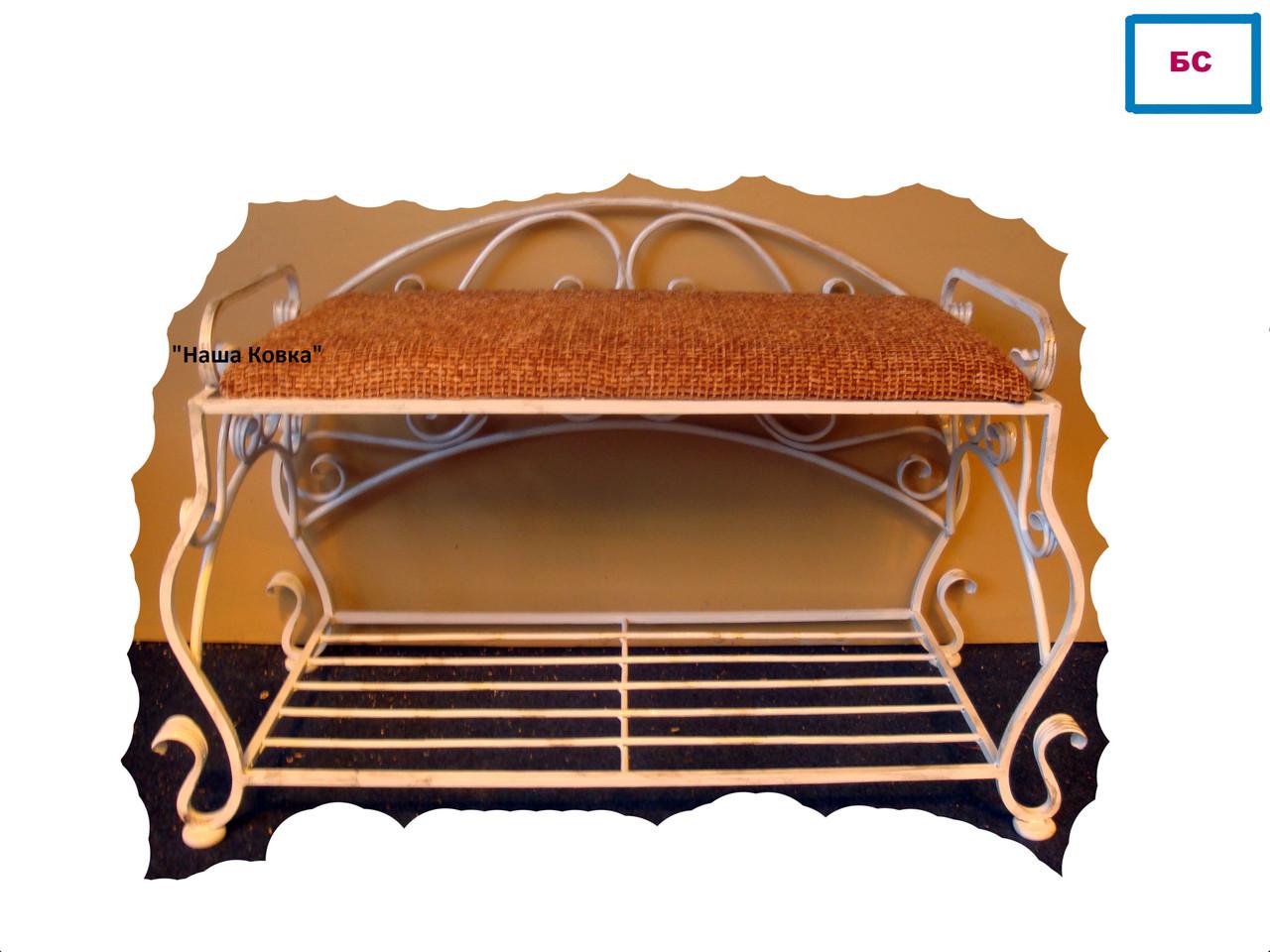 Кованые диванчик по эскизу