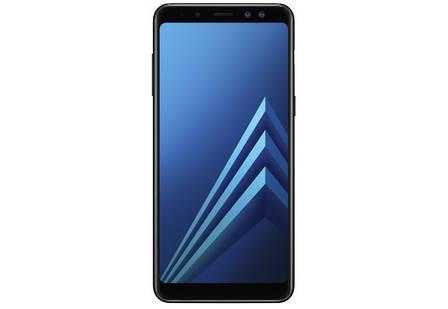 Samsung Galaxy A8 2018 32GB A530FD Black 1 месяц, фото 2