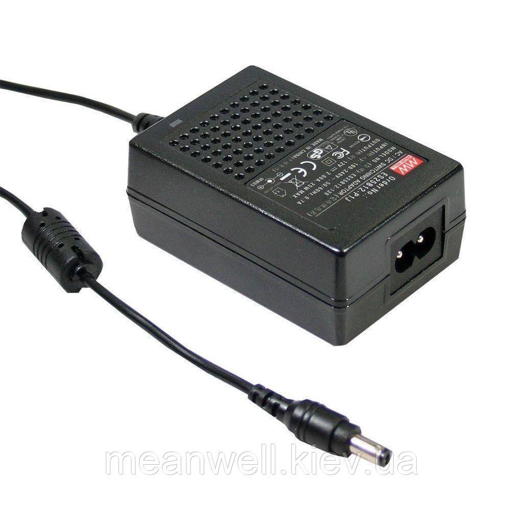 GS18B12-P1J AC DC адаптер питания 12В, 1,5А Mean Well