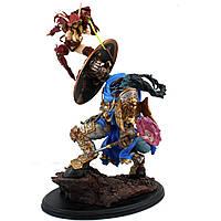 Статуэтка SIDESHOW World of Warcraft BLOOD ELF ROGUE/DRAENEI PALADIN Эльф Крови Убийца и Дреней Паладин BL96
