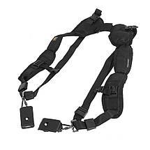 Фоторемень Caden, разгрузка для фотоаппарата, двойной плечевой ремень для фотоаппарата (Double Quick Strap)., фото 3