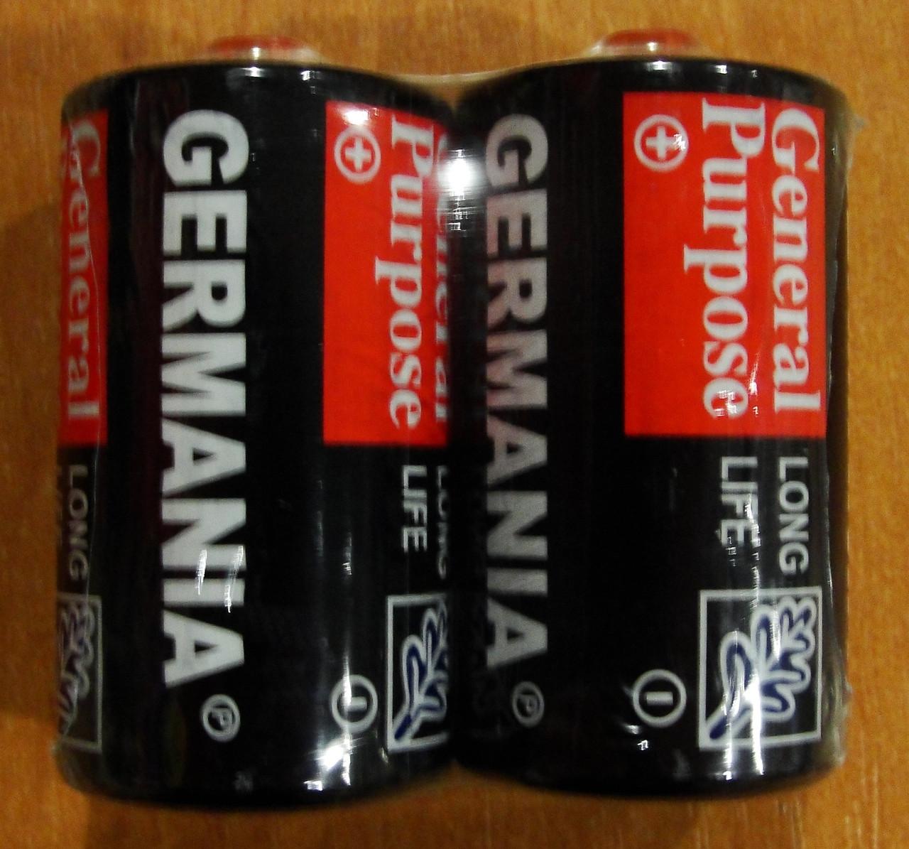 Батарейка Германия R 20   12шт/уп