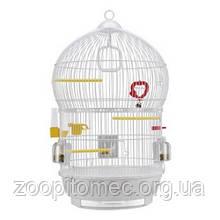 Круглая белая клетка для птиц BALI FERPLAST-ФЕРПЛАСТ, белая  d 43,5*68,5 cm