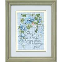 Набор для вышивки крестом Dimensions 65015 «Колибри и утренние глории»