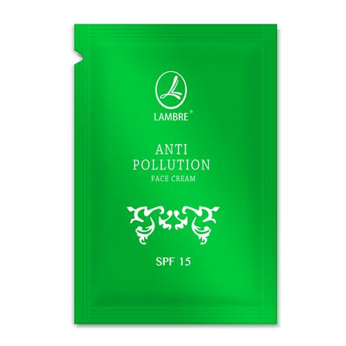 ТЕСТЕР Защитный крем от негативного воздействия окружающей среды LAMBRE Anti Pollution SPF15