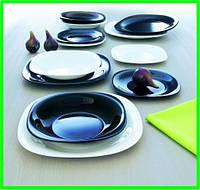 Столовый набор посуды Carine White&Black 19 приборов