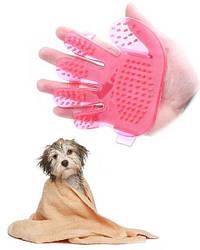 Щётка силиконовая для мытья животных Pet Wash Brush