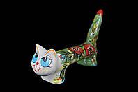 Кот ручной работы Львовская керамика (21), фото 1