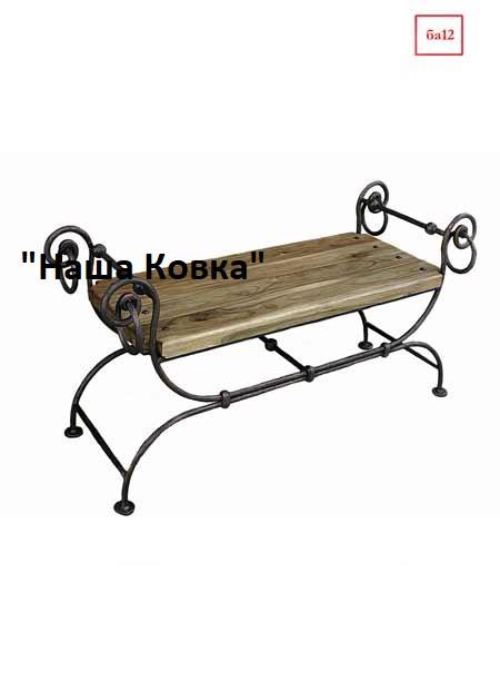Банкетка из дерева - БА12