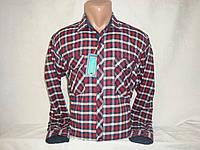 Мужская тёплая рубашка в клетку с двумя карманами Fr. Varetti, Турция, фото 1