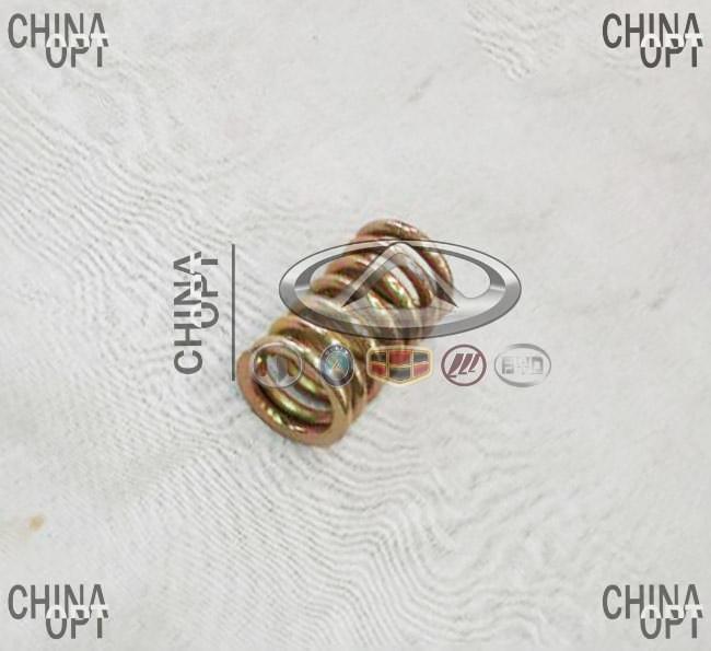 Пружина болта приемной трубы, Geely MK1 [1.6, до 2010г.], 1602026180, Original parts