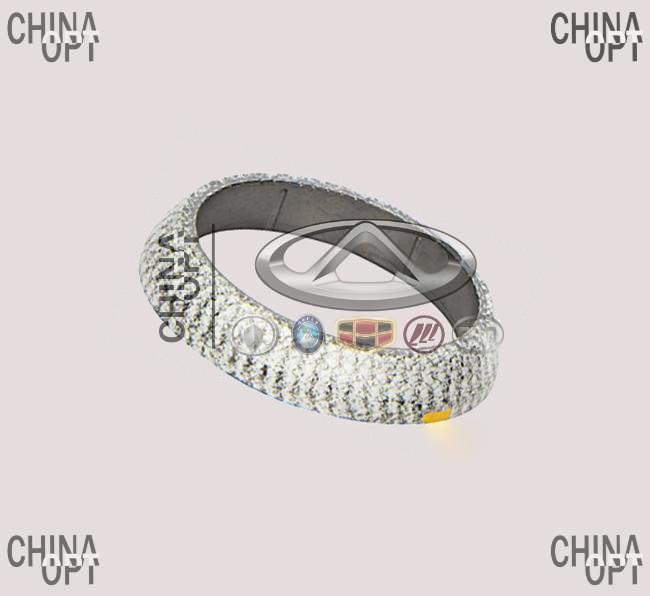 Прокладка приемной трубы, меднографитовое кольцо, внутр. D=51мм, Geely LC Cross [GX2], 1016002020, Aftermarket