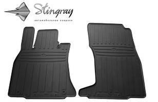 KIA Stinger 2017- Комплект из 2-х ковриков Черный в салон
