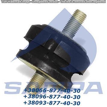 Опора радиатора/глуш DAF 65/75/85/95XF (0221342)