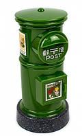 Копилка почтовый ящик зеленый