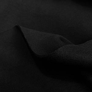 Футер трехнитка с начесом черная