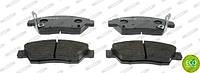 Колодки тормозные передние Honda Civic 91-; Domani 92- Ferodo