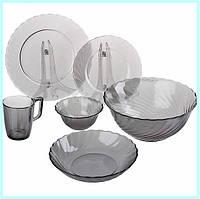 Набор посуды  Luminarc TRIANON GRAPHITE 19 приборов