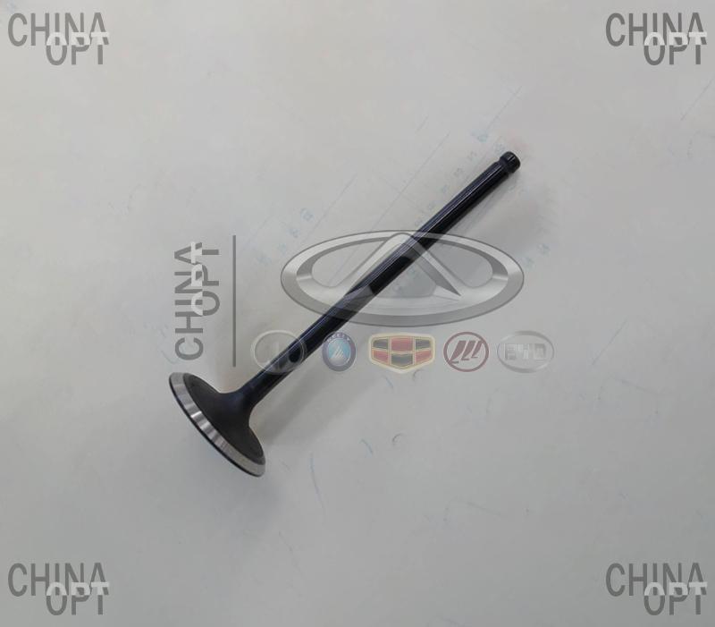 Клапан впускной, шт., 4G20, 4G24, Geely EC8[2.4,GP,AT], 1030003100, Aftermarket