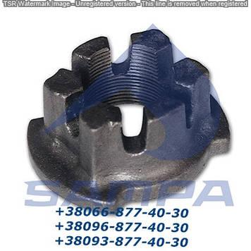 Гайка ступицы BPW SW65 M42x2 овал 0326216080