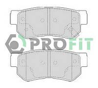 Колодки тормозные задние Hyundai Santa Fe 00-; Sonata 98-; Getz 03-; Tucson 06-; KIA Sportage 06-