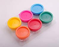 Фарби пальчикові, 6 кольорів