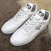 Кроссовки Adidas Y-3 Bashyo мужские белые ( реплика АА класса)