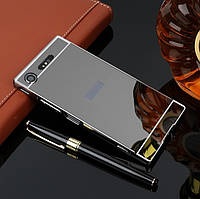 Алюминиевый чехол бампер для Sony Xperia XZ1 (G8342), фото 1