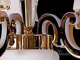Классическая люстра со светящимися рожками 8333/5G, фото 4