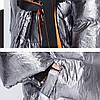 Пальто-куртка - кимоно, металлик, фото 5