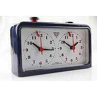 Шахматные часы механические кварцевые на батарейке Diadmond World Sport Темно-синий (СМИ 903)