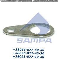 Крепление (капля) ролика тормозной колодки SAF (32x19x60)