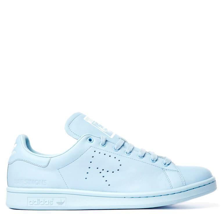 Женские Кроссовки Адидас Adidas Raf Simons Stan Smith Blue (Арт. 1348) — в  Категории
