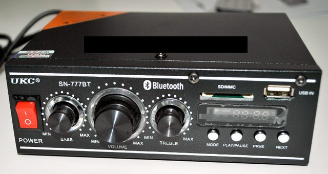 Усилитель звука UKC SN-777BT Mini Blue Audio System (Аудио система)