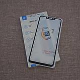 Защитное стекло 2E Huawei P Smart Plus 2.5D black, фото 2