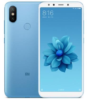 "Смартфон Xiaomi Mi 6X 6/64GB Blue, 12+20/20Мп, Snapdragon 660, 2sim, 5.99"" IPS, 3010mAh, GPS"
