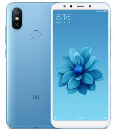 """Смартфон Xiaomi Mi 6X 6/64GB Blue, 12+20/20Мп, Snapdragon 660, 2sim, 5.99"""" IPS, 3010mAh, GPS, фото 1"""