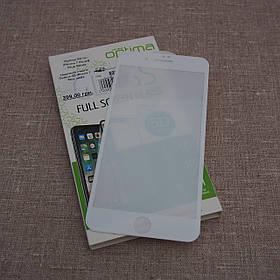 Защитное стекло Optima 5D iPhone 7 Plus white