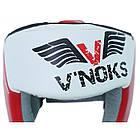 Боксерский шлем V`Noks Lotta Red, фото 2