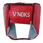 Боксерский шлем V`Noks Lotta Red, фото 8